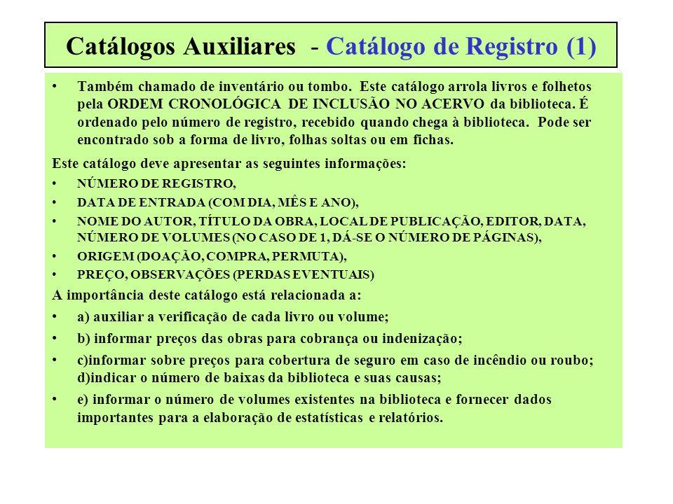 Catálogos Auxiliares - Catálogo de Registro (1)