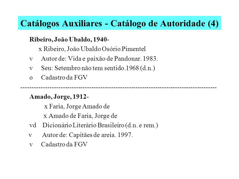 Catálogos Auxiliares - Catálogo de Autoridade (4)