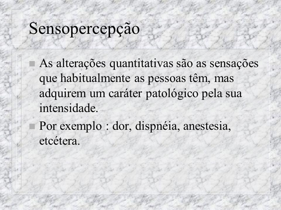 Sensopercepção