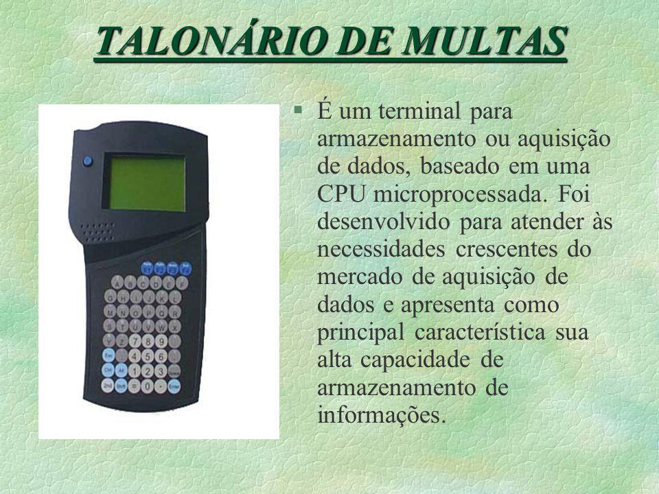 TALONÁRIO DE MULTAS