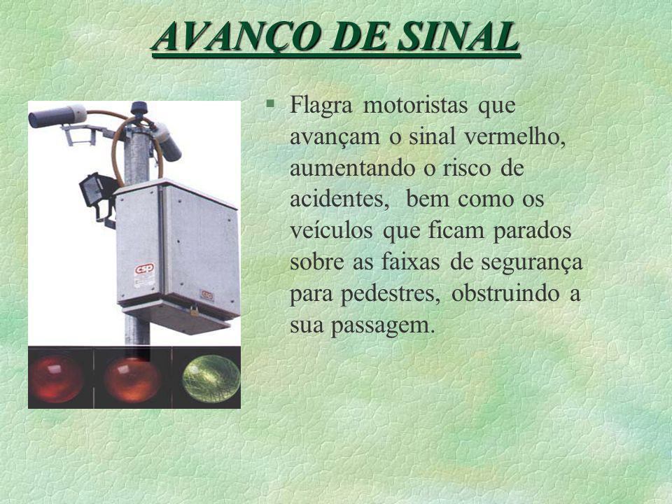 AVANÇO DE SINAL