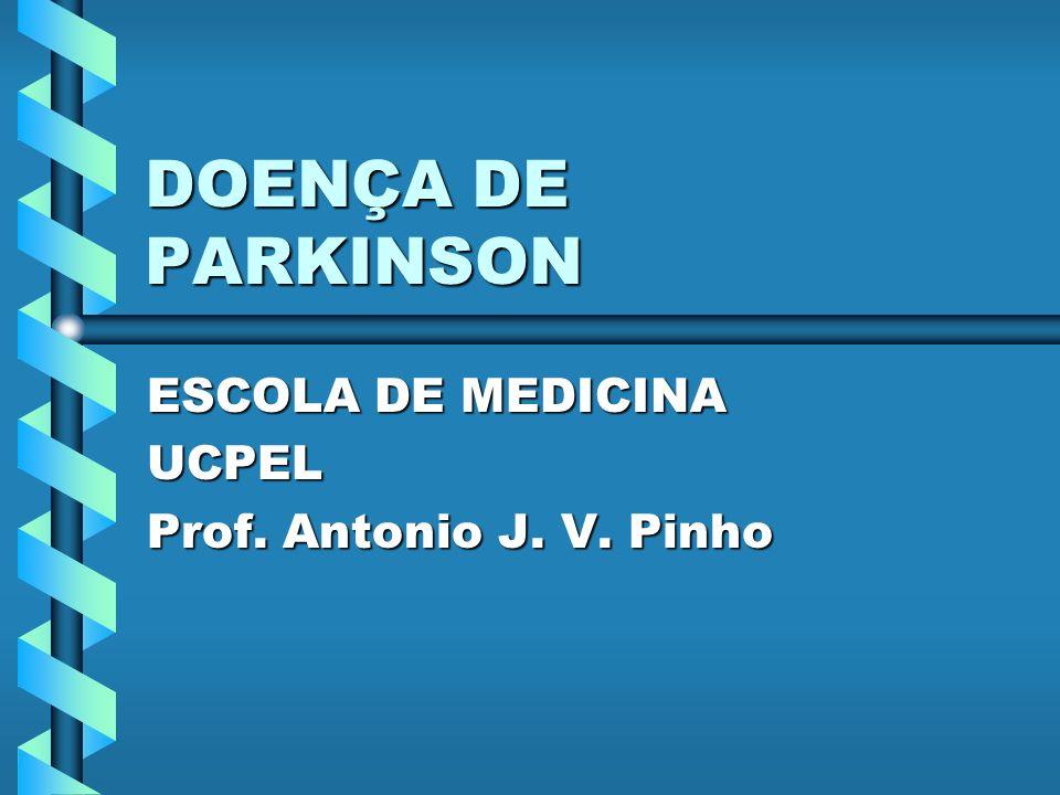 ESCOLA DE MEDICINA UCPEL Prof. Antonio J. V. Pinho