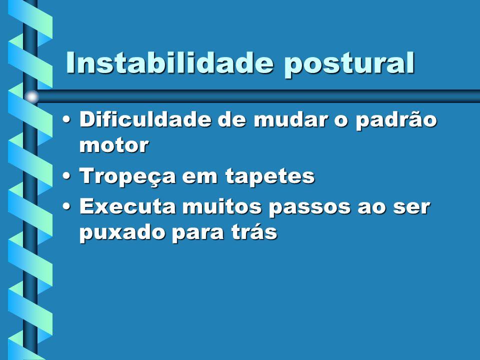 Instabilidade postural