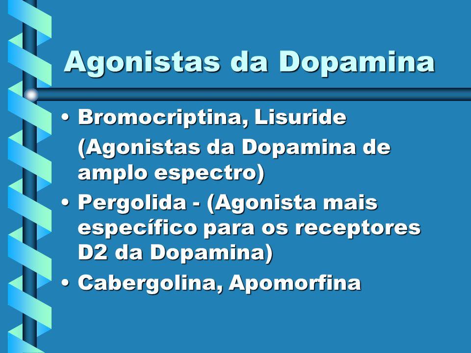 Agonistas da Dopamina Bromocriptina, Lisuride