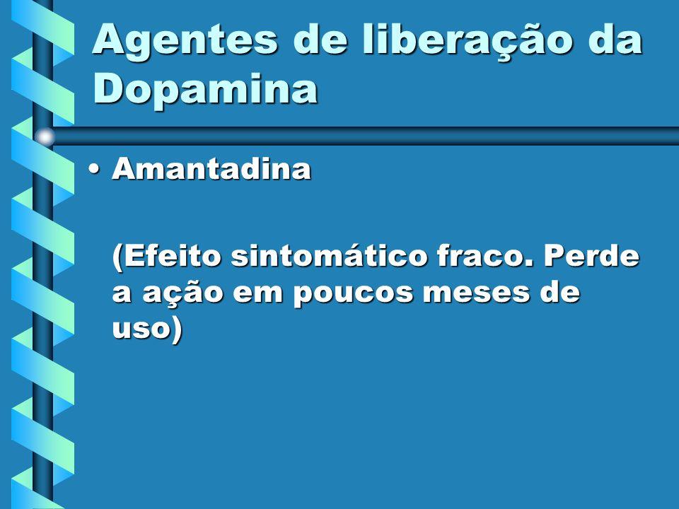Agentes de liberação da Dopamina