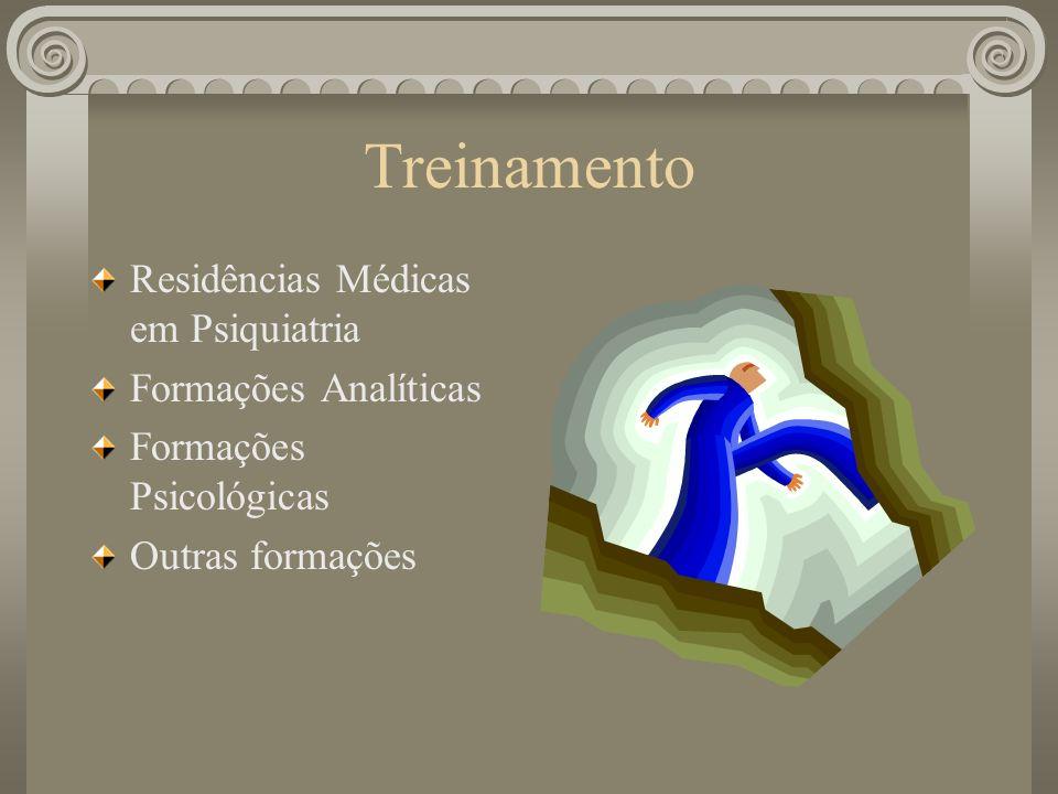 Treinamento Residências Médicas em Psiquiatria Formações Analíticas