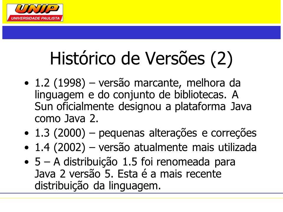 Histórico de Versões (2)