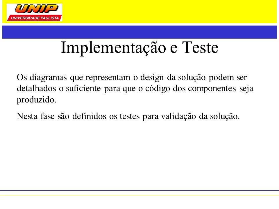 Implementação e Teste
