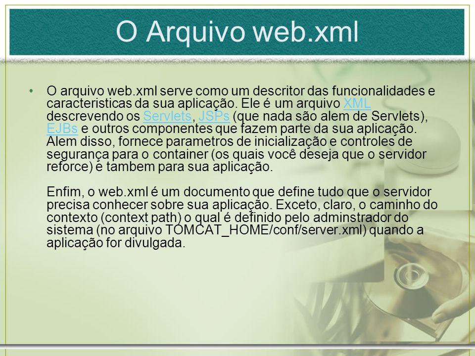 O Arquivo web.xml
