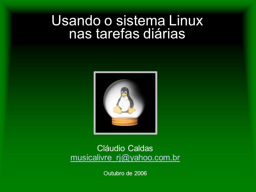Usando o sistema Linux nas tarefas diárias