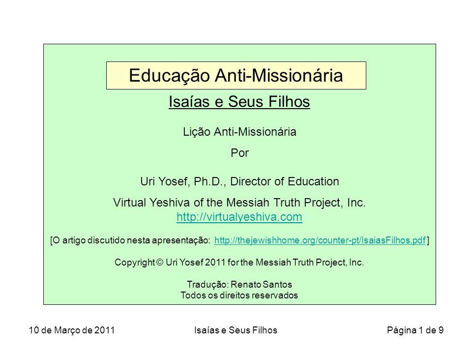 Educação Anti-Missionária