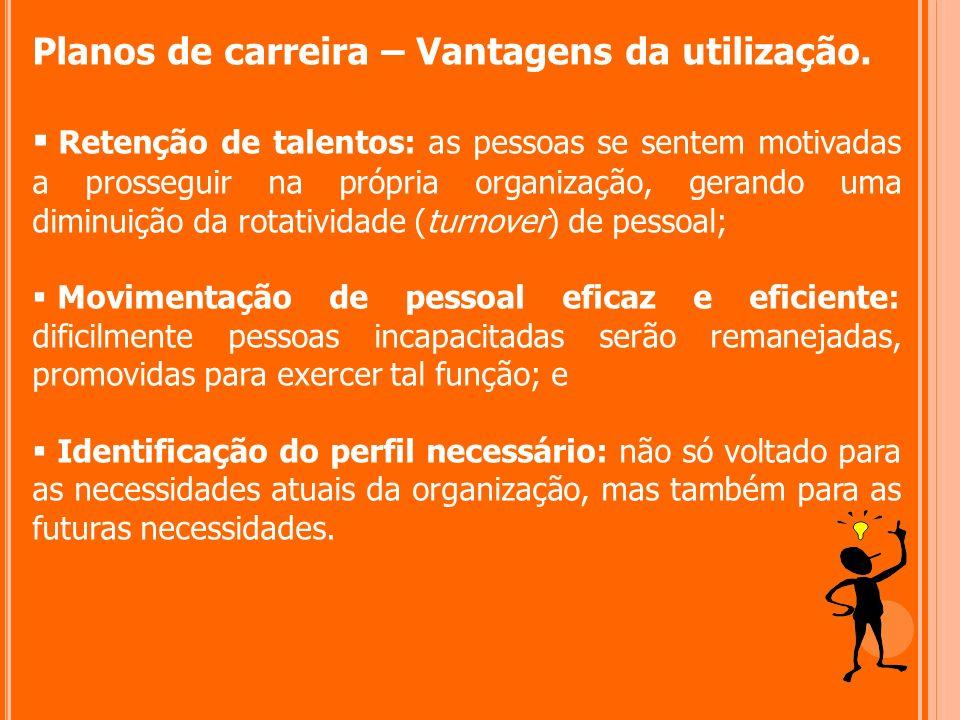 Planos de carreira – Vantagens da utilização.