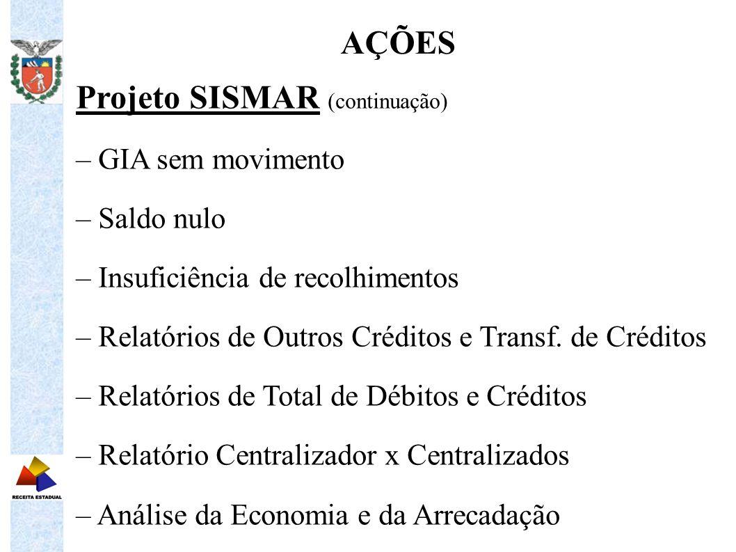 Projeto SISMAR (continuação)