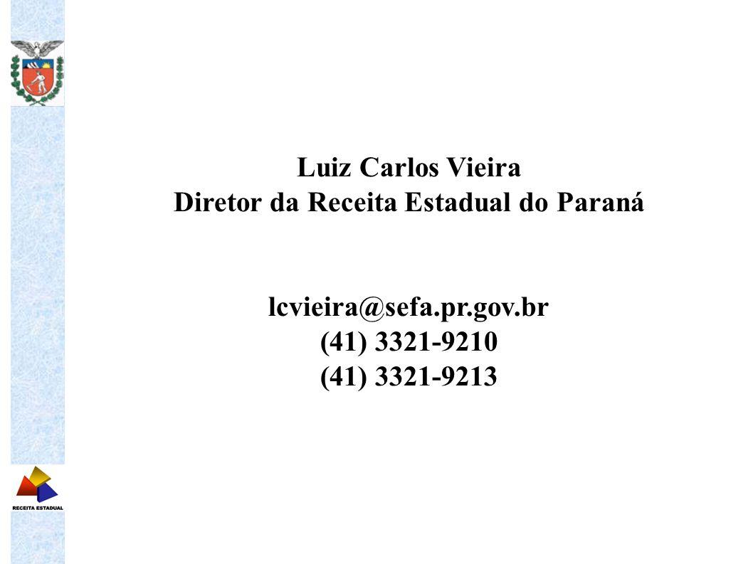Diretor da Receita Estadual do Paraná