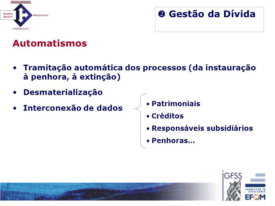  Gestão da Dívida Automatismos