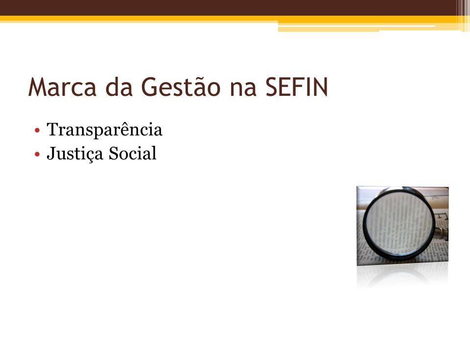 Marca da Gestão na SEFIN