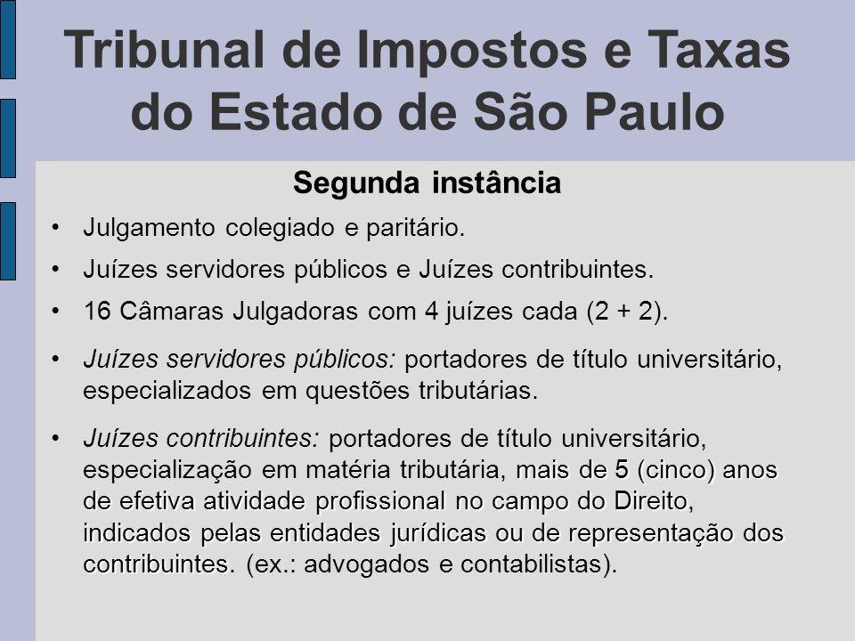 Tribunal de Impostos e Taxas do Estado de São Paulo