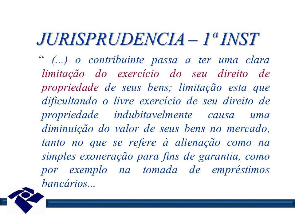 JURISPRUDENCIA – 1ª INST