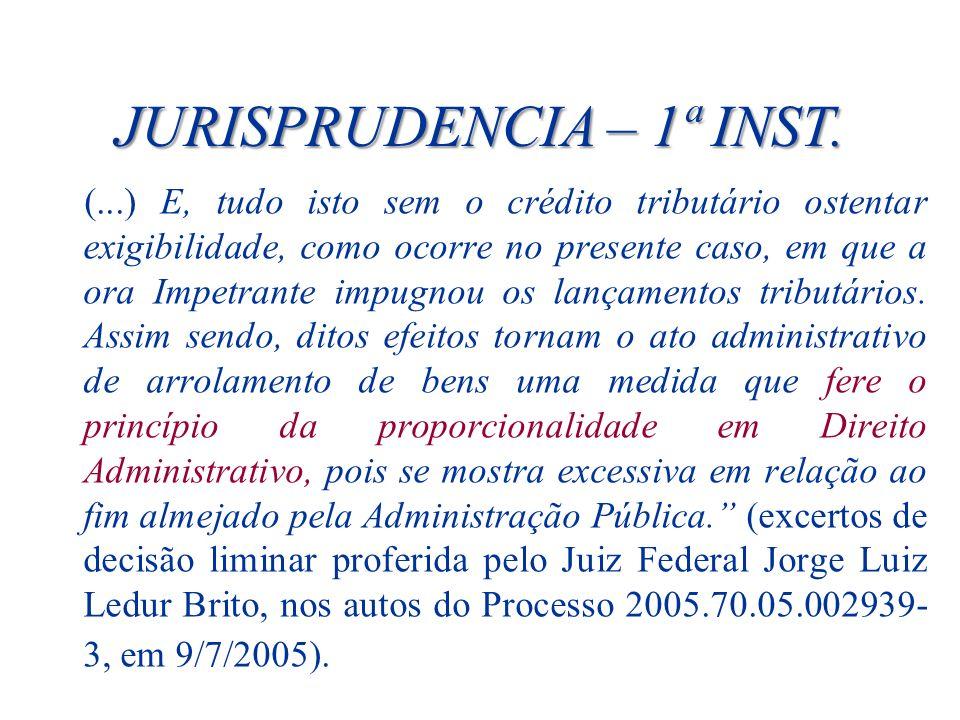 JURISPRUDENCIA – 1ª INST.
