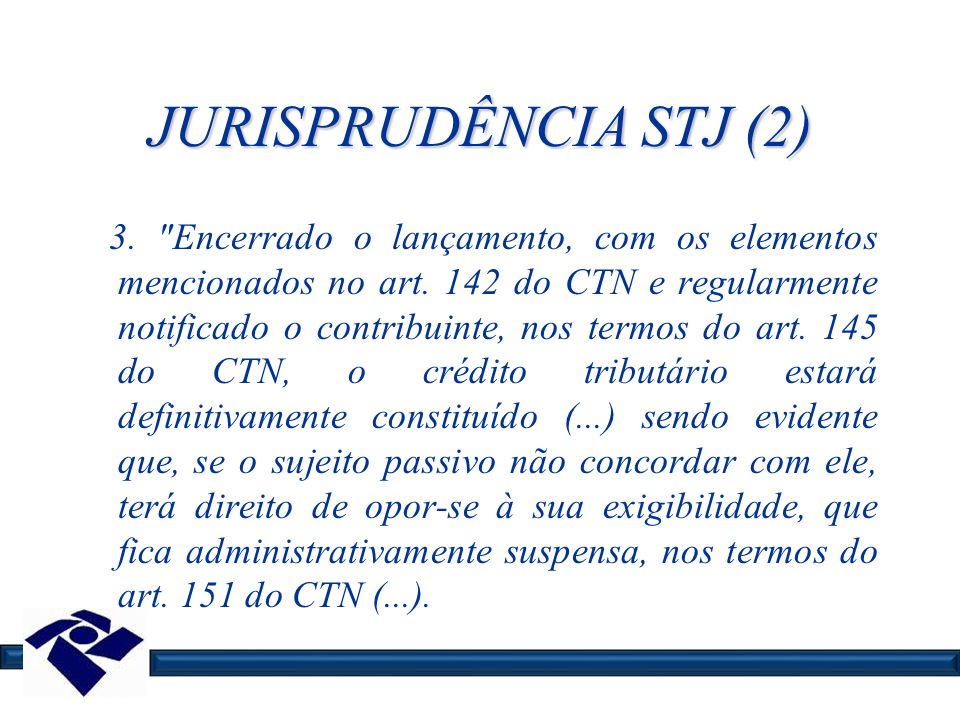 JURISPRUDÊNCIA STJ (2)