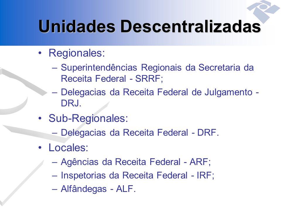 Unidades Descentralizadas