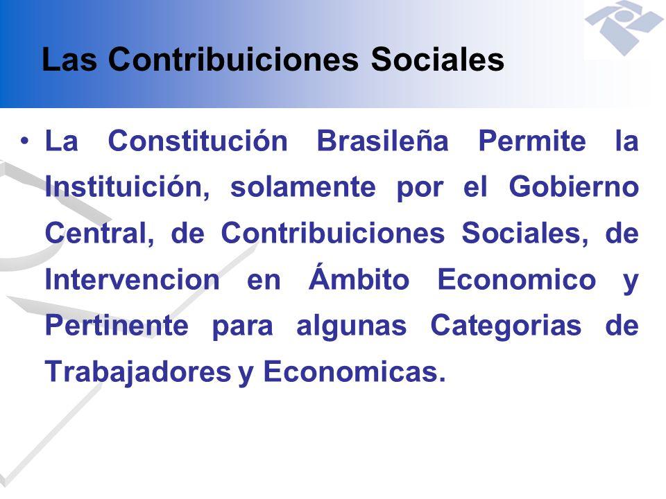 Las Contribuiciones Sociales