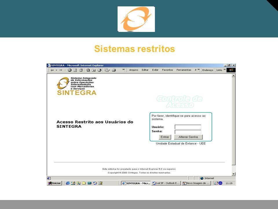Sistemas restritos