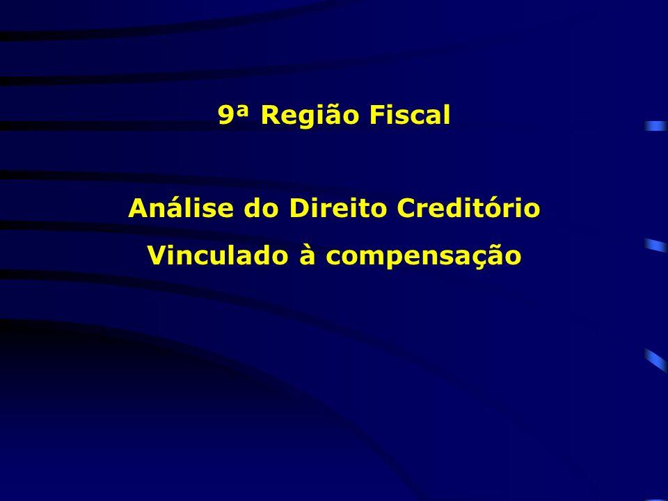 Análise do Direito Creditório Vinculado à compensação