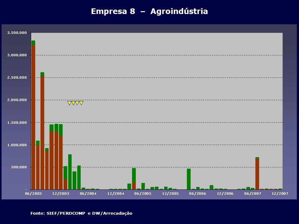 Empresa 8 – Agroindústria