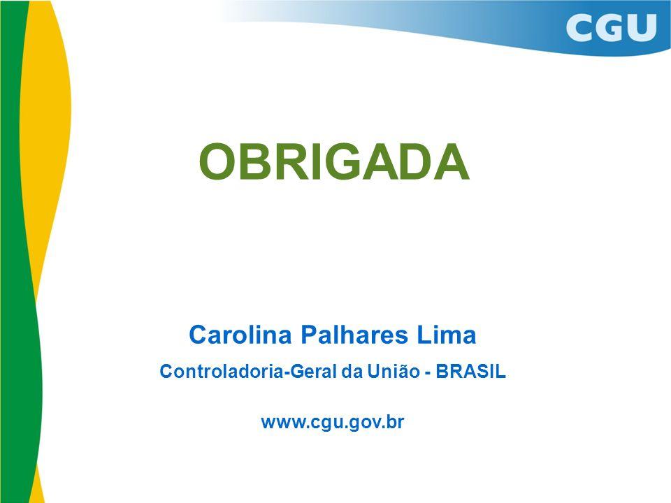 Carolina Palhares Lima Controladoria-Geral da União - BRASIL