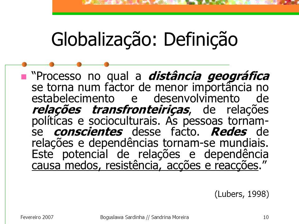 Globalização: Definição