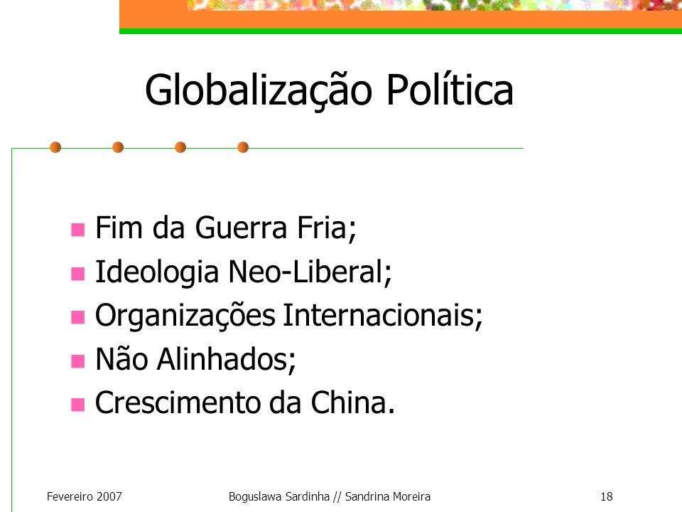 Globalização Política