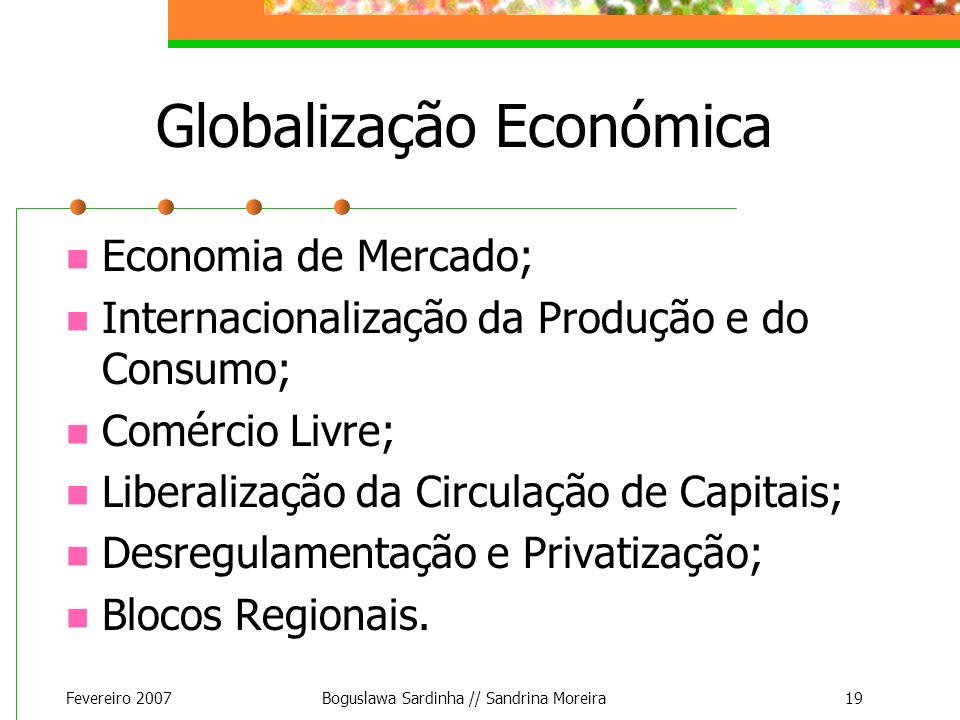 Globalização Económica