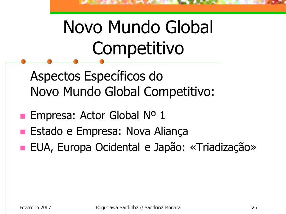 Novo Mundo Global Competitivo