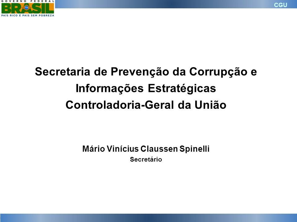 Secretaria de Prevenção da Corrupção e Informações Estratégicas