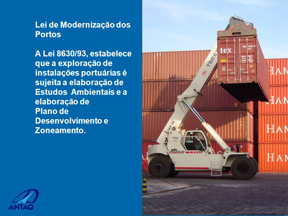 Leis Lei de Modernização dos Portos