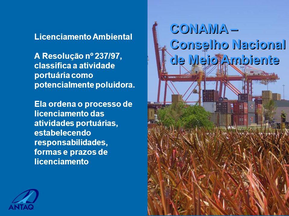 CONAMA – Conselho Nacional de Meio Ambiente