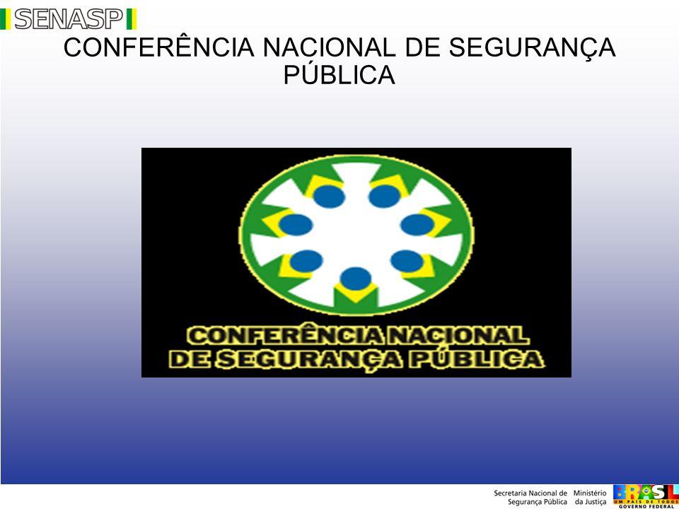 CONFERÊNCIA NACIONAL DE SEGURANÇA PÚBLICA