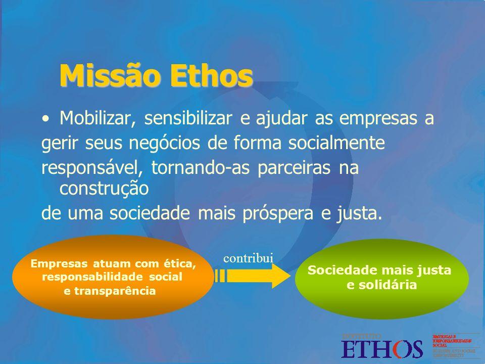 Empresas atuam com ética, responsabilidade social