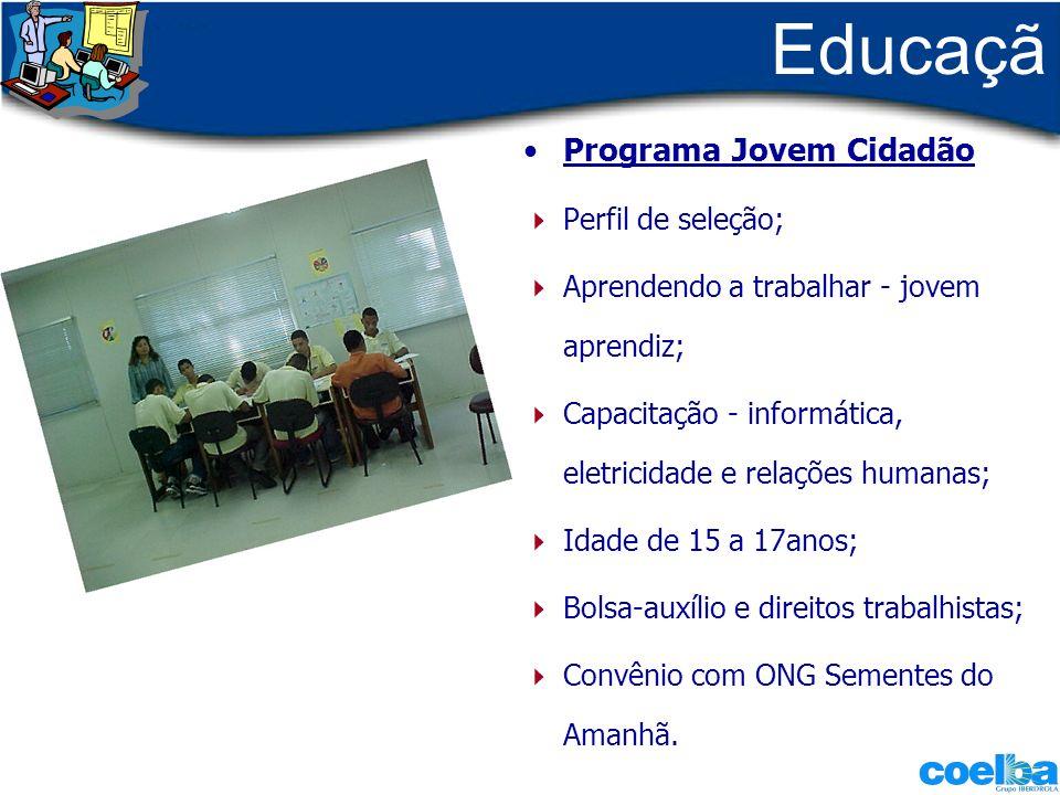 Educação Programa Jovem Cidadão - Perfil de seleção;