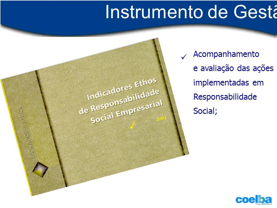 Instrumento de Gestão Acompanhamento  e avaliação das ações
