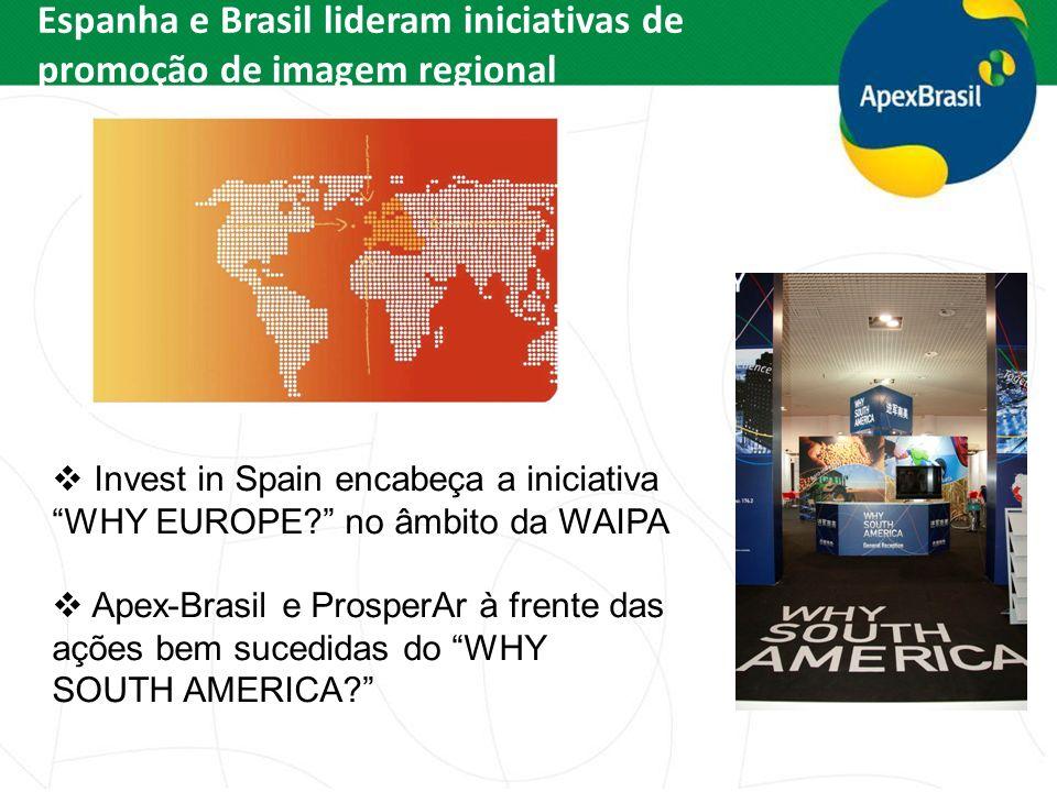 Espanha e Brasil lideram iniciativas de promoção de imagem regional