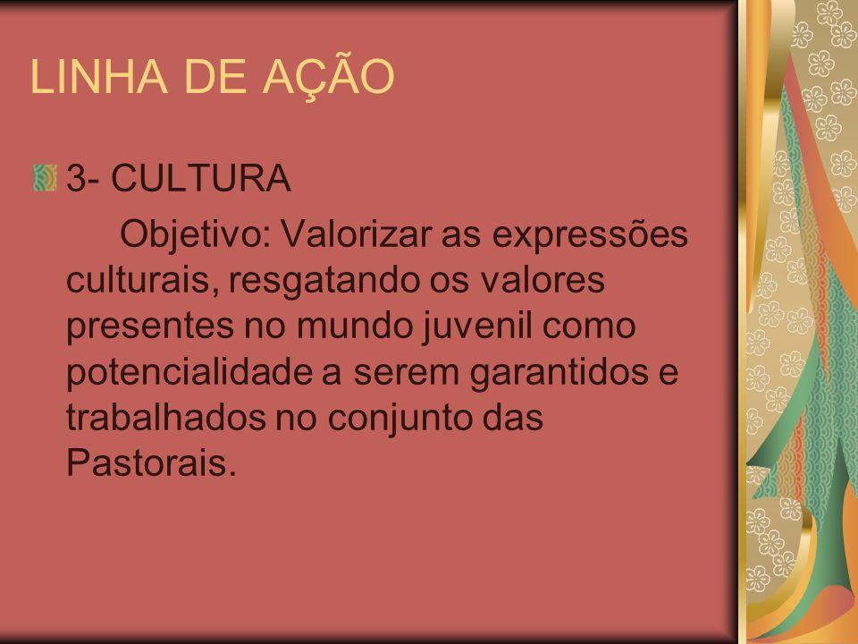 LINHA DE AÇÃO 3- CULTURA.