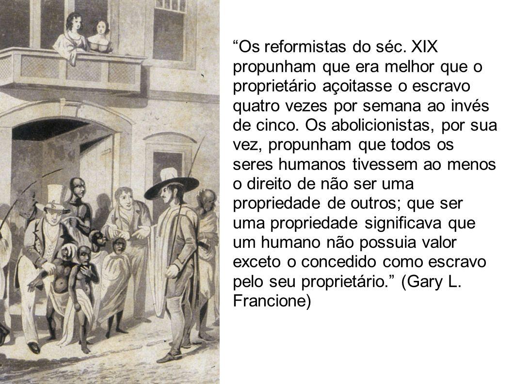 Os reformistas do séc.