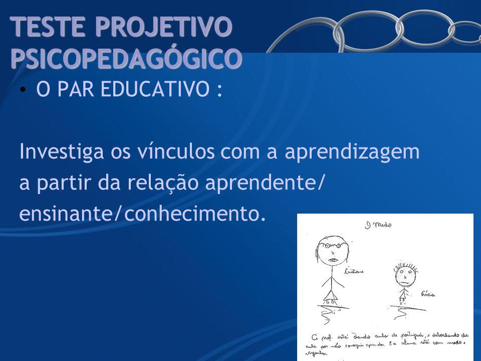 TESTE PROJETIVO PSICOPEDAGÓGICO