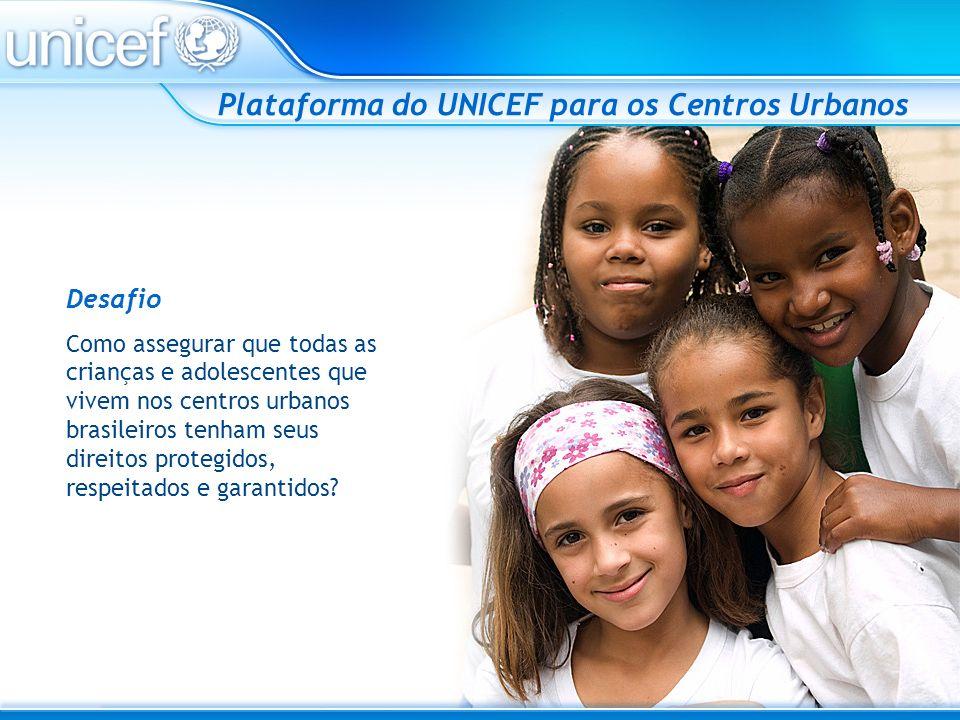 Plataforma do UNICEF para os Centros Urbanos