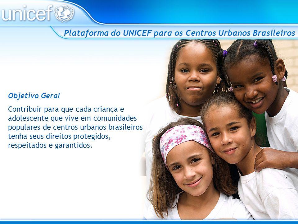 Plataforma do UNICEF para os Centros Urbanos Brasileiros