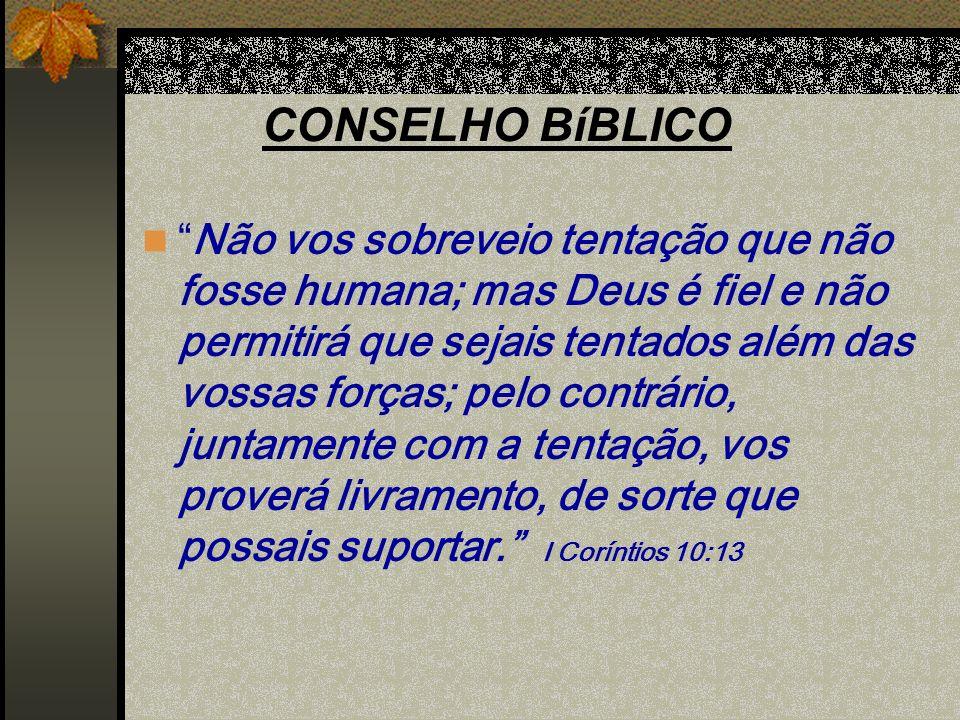 CONSELHO BíBLICO