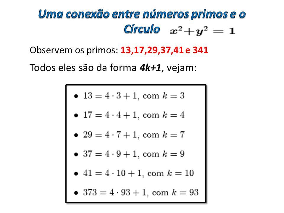 Uma conexão entre números primos e o Círculo