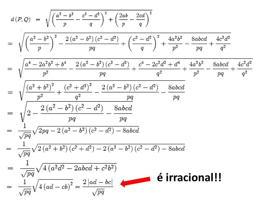 é irracional!!